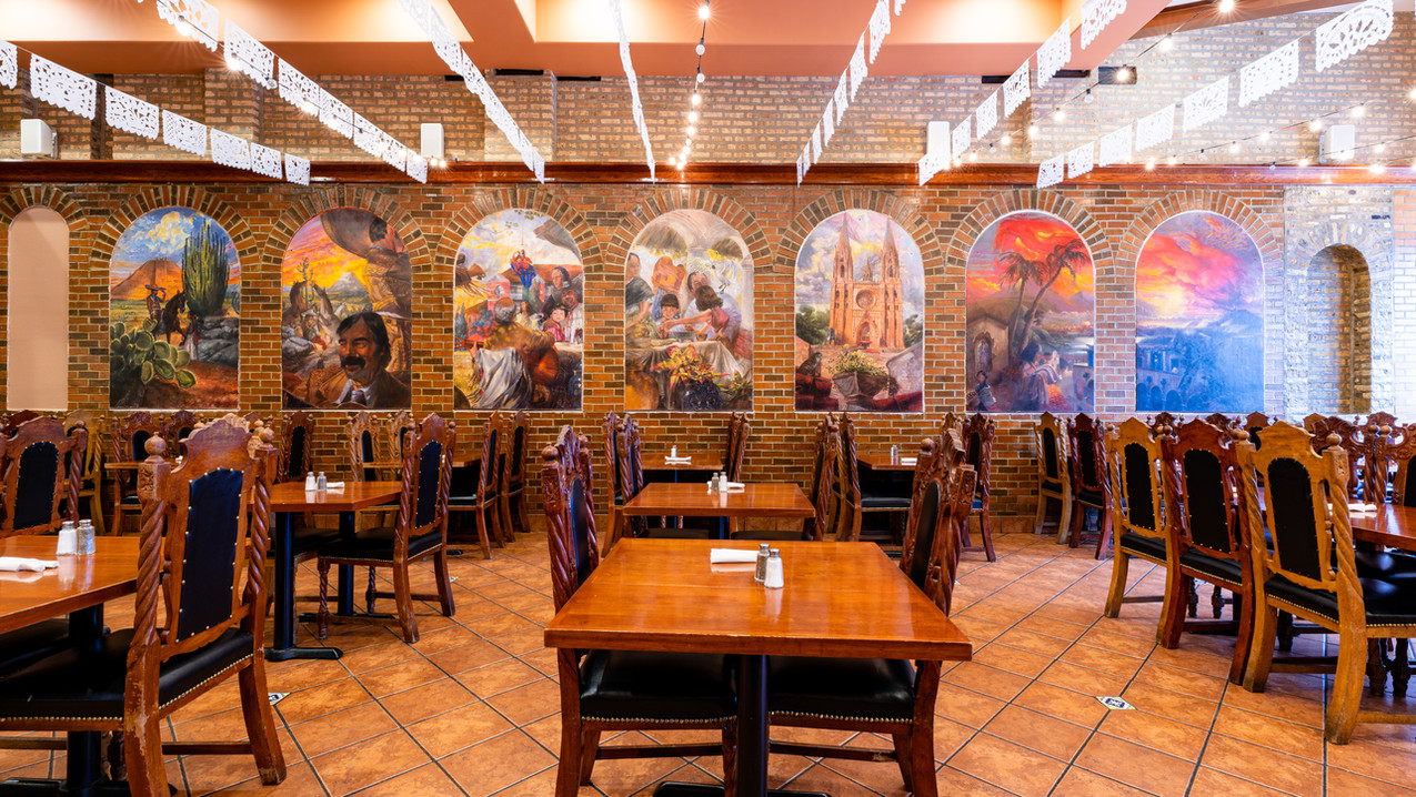 Mural inside Garcia's Main Dining Area