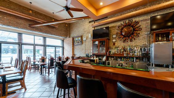 Full Service Bar at Garcia's Restaurant