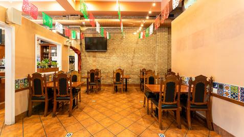 Small Private area at Garcia's Restaurant