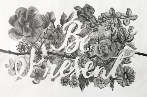 Be Present Typography