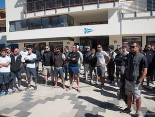 Day 2 della selezione della LIV a Porto Cervo: vince il maestrale, regate rinviate