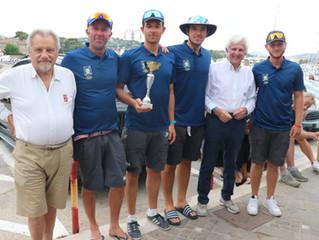 Circolo Canottieri Aniene, vittoria in volata