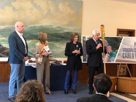 """La LIV premia """"Un mare di Plastica"""" di Borgogno al Premio Marincovich"""