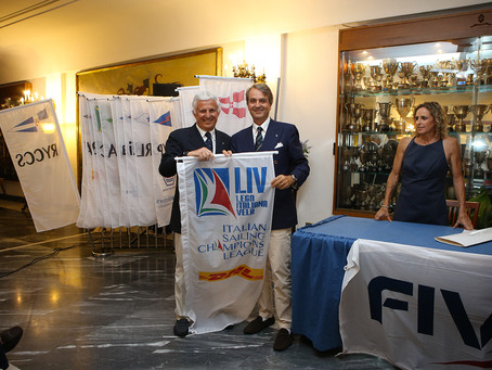 Inaugurato con la cerimonia di apertura il Kick-Off della Italian Sailing Champions League