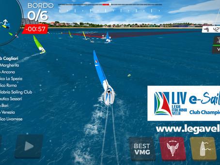Sessanta club e 180 velisti alla regata virtuale LIVe-Sailing Club Championship