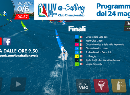 LIVe-Sailing Club Champioship, otto yacht club in finale