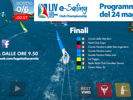 LIVe-Sailing Club Champioship, otto yacht club in finale