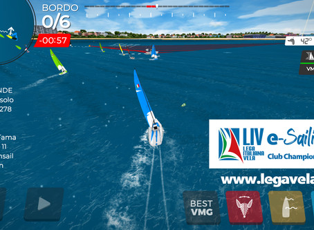 LIVe-Sailing Club Championship, parte la regata virtuale per club