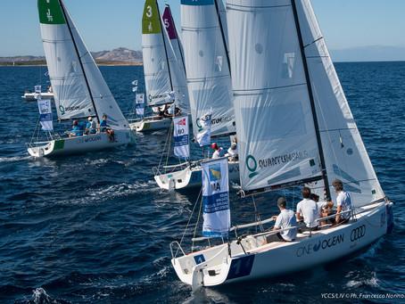 Circolo della Vela Bari in testa alla finale della Audi Italian Sailing League. Domani la giornata d