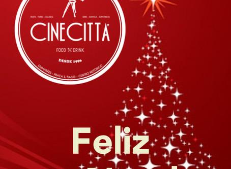 O Cinecittá snack/bar deseja um Feliz Natal ❤️