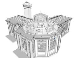 Перспектива крыши