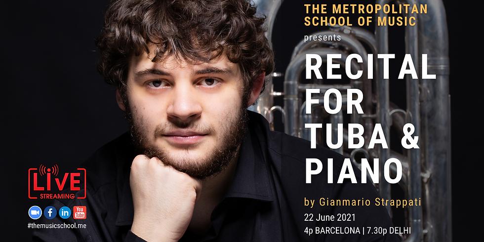 Recital for Tuba and Piano