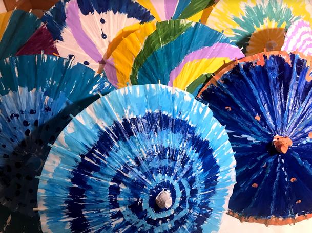 Time Travel Umbrellas