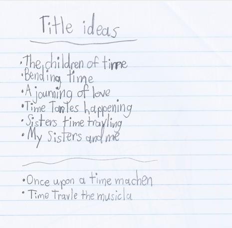 Title Ideas