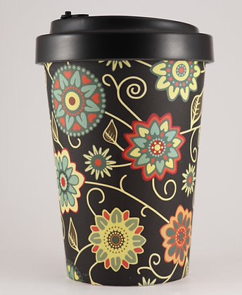 Bamboo Cup - Flower - 400ml