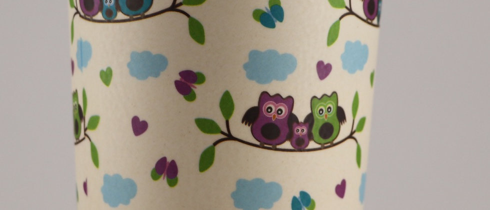 Bamboo Cup - Chouettes - 500ml