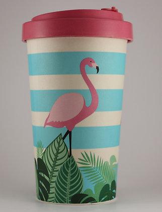 Bamboo Cup - Flamingo - 500ml