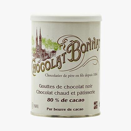 Gouttes de Chocolat Noir 80%