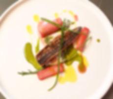 Mackerel, Rhubarb, Sorrel