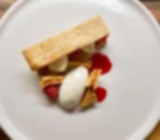 Beetroot, Ricotta, Oat Biscuit, Elderflower