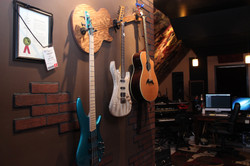 Showing off our Wall-Axe Hanger!