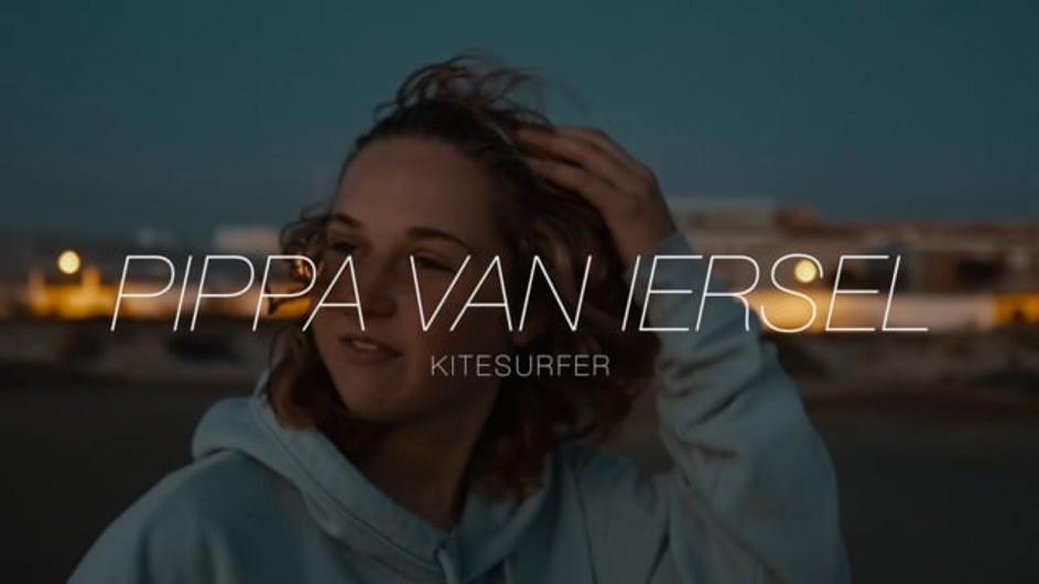 Kitesurfer Pippa van Iersel