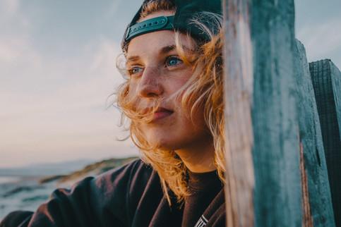 Portrait of Kitesurfer Pippa van Iersel