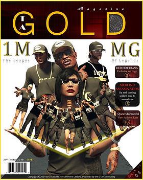 GTA Gold Magazine Editon 4 featuring 1MMG
