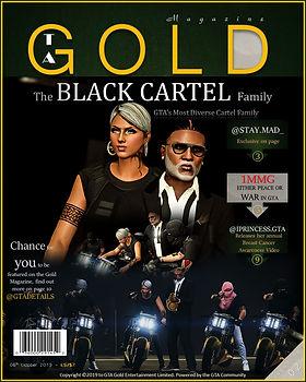 GTA Gold Magazine Editon 2 featuring The Black Cartel Family