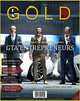 GTA Gold Magazine Exclusive edition featuring Vangeezo, RR.Srech and RR.Jefe