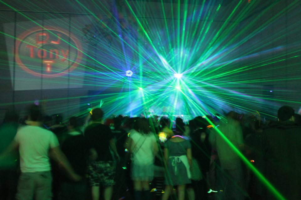 Rave Lighting Show