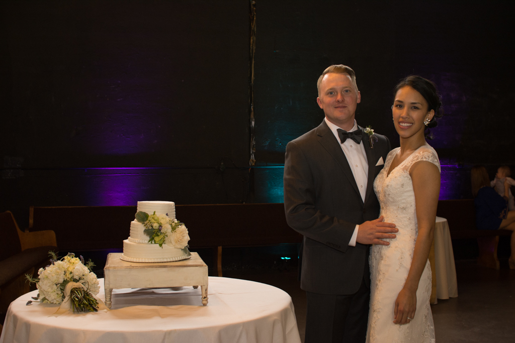 Wedding Couple & Cake