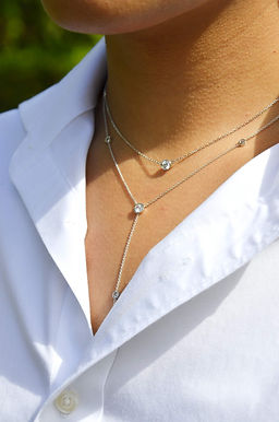 Diavo lab diamond necklace