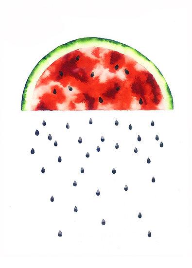 Watermelon Cloud - Limited Edition Print
