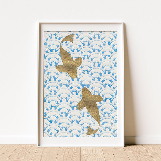 Through calm and stormy waters - Limited Edition Print, unframed