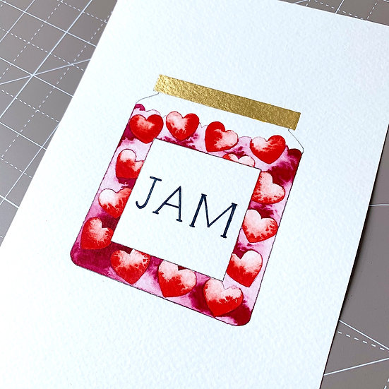 You're my Jam - Limited Edition Print, unframed
