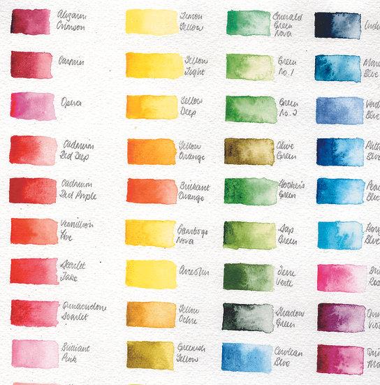 Colour palette: reds