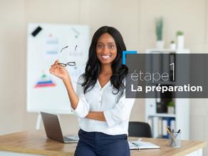 Télétravail: comment assurer le succès de vos réunions à distance? Etape 1:  La préparation