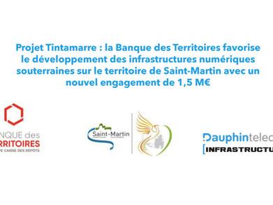 Projet Tintamarre : la Banque des Territoires s'engage !