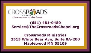 Crossroads Chapel
