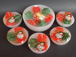 Velas de Natal Concha