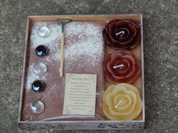 Jardim Zen Pequeno Rosa