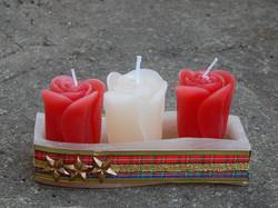 Velas de Natal Vermelha