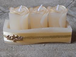 Velas Decorativas creme