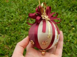 Bolas de Natal Vinho