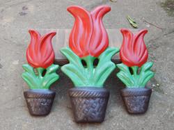 Cerâmica Parede Tulipa