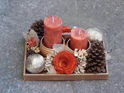 Decoração Arranjos com velas