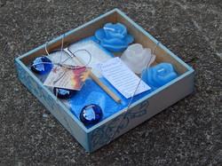 Jardim zen Mini Azul