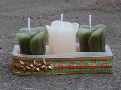 Velas de Natal Verde