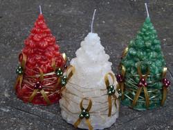 Velas de Natal Pinheirinho